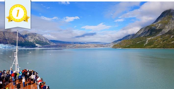 glacier bay alaska port awards