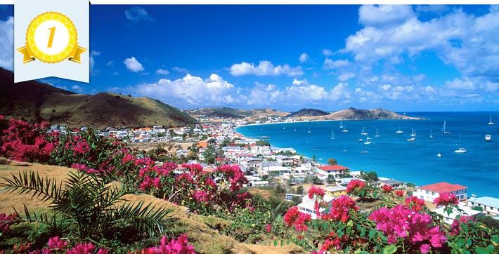 best caribbean port st. martin maarten