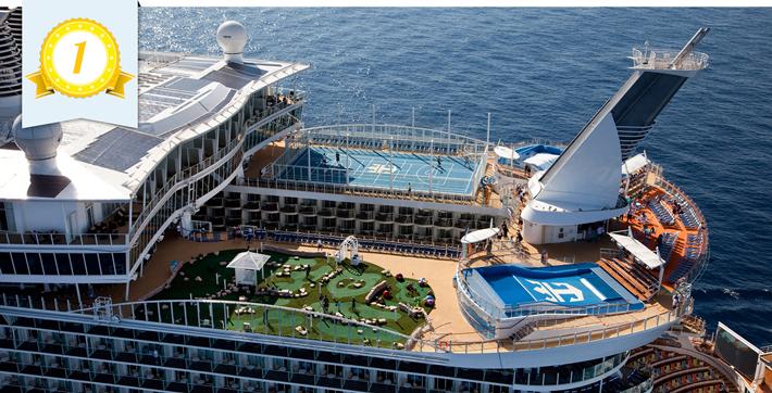 best line onboard activities royal caribbean