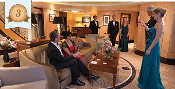 best cruise line for couples cunard