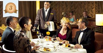 best cruise dining food cunard