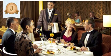 best cruise dining food cunard