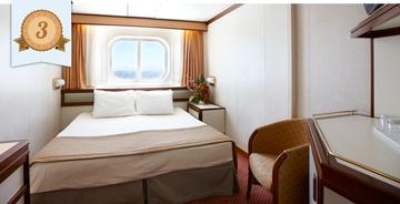 best oceanview cruise ship cabin princess