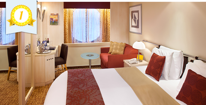 best cruise ship oceanview cabins celebrity