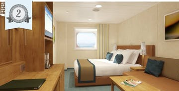 best cruise ship oceanview cabins carnival