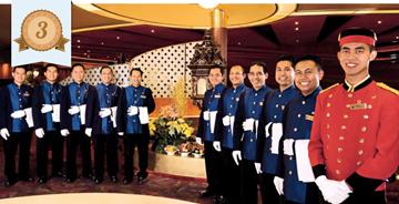 holland america line best service staff