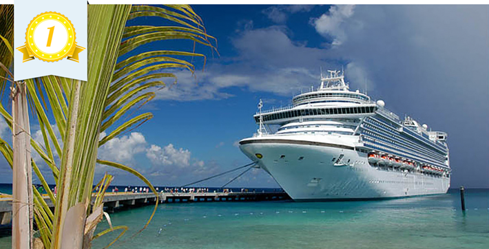 crown princess most improved cruise ship