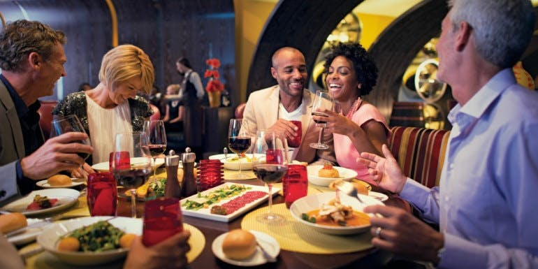 best food dining celebrity cruise