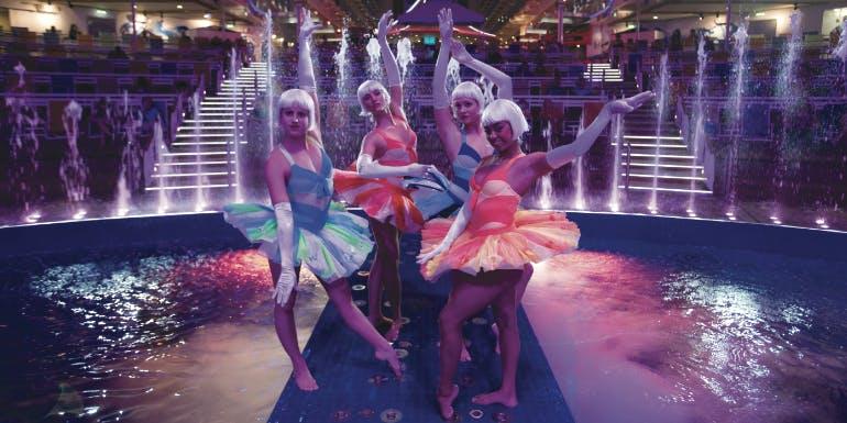 royal caribbean best cruise line entertainment
