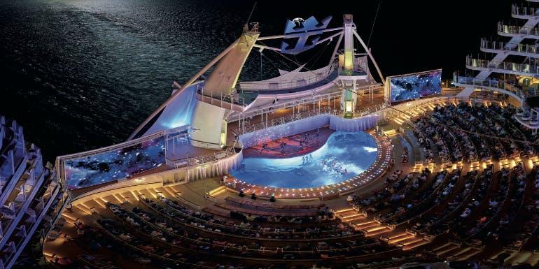 royal caribbean aquatheater show entertainment 2019