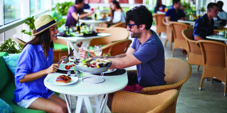best food dining the porch celebrity cruises 2019