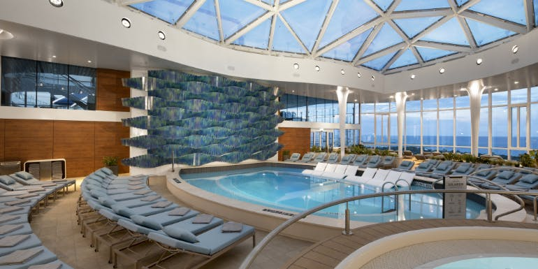 celebrity edge solarium pool best line ship quality