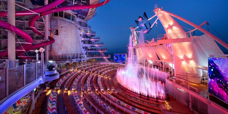 aquatheater harmony of the seas show awards 2020
