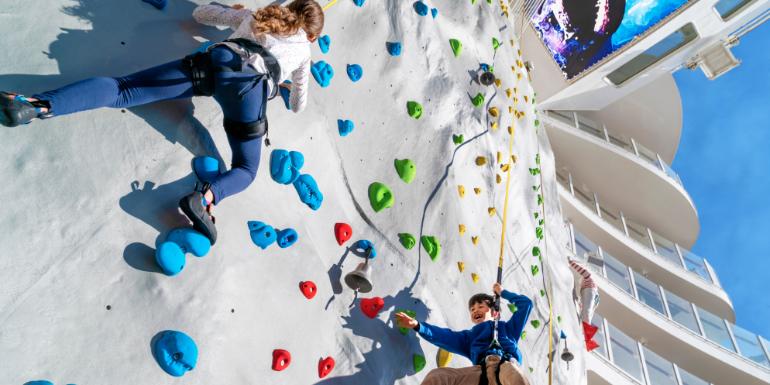 royal caribbean rock climbing wall awards 2020