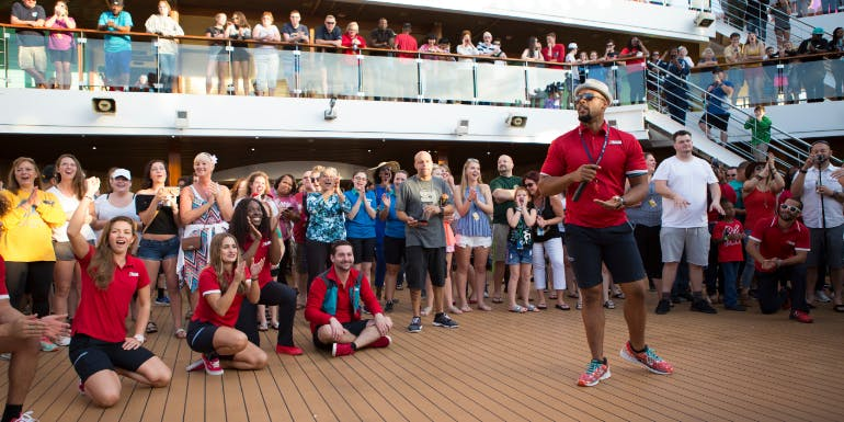 carnival magic lido deck party awards 2020
