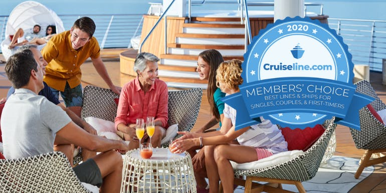 best cruise lines ships singles couples first timers