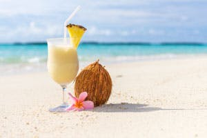 pina colada caribbean drinks cruise