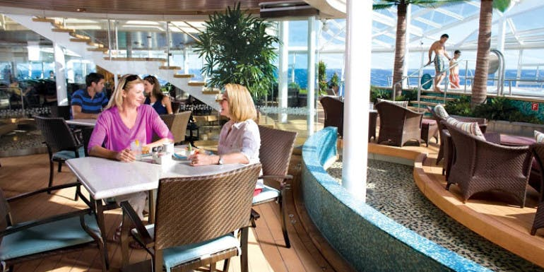 royal caribbean anthem solarium bistro food