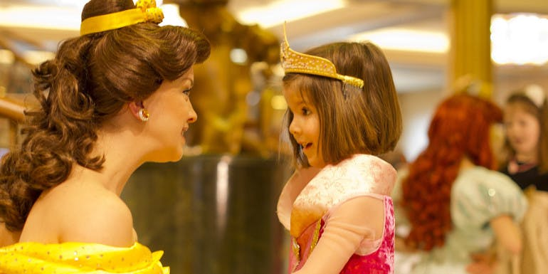 disney dream cruise princess meet tips