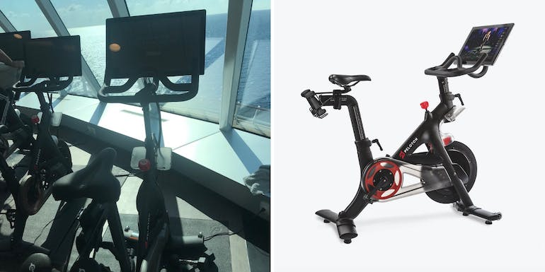 peloton bike fitness center celebrity edge