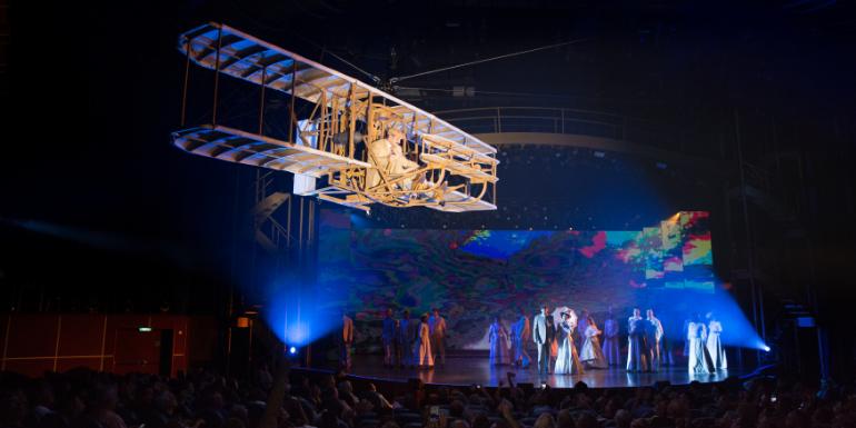 royal caribbean symphony of the seas flight dare to dream