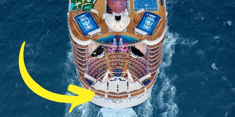 symphony of the seas deck five aft