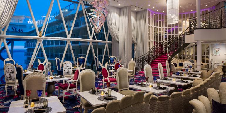symphony of the seas wonderland restaurant royal caribbean