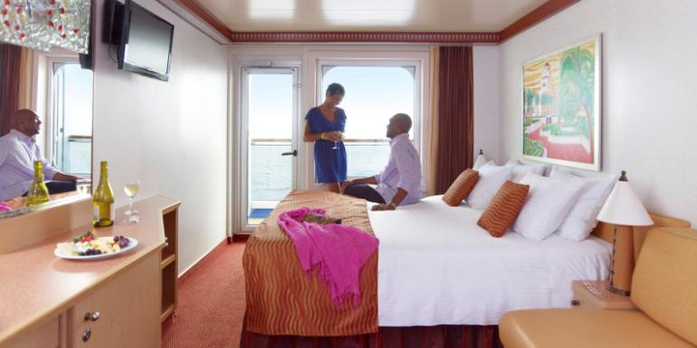 carnival balcony cabin stateroom cruise pricing