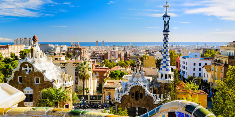 barcelona spain cruise departure port vacation