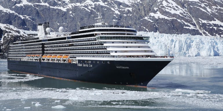holland america westerdam alaska glacier mountains