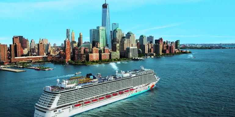 manhattan new york us departure ports