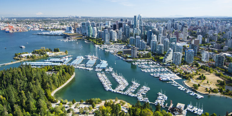 vancouver canada cruise port departure city