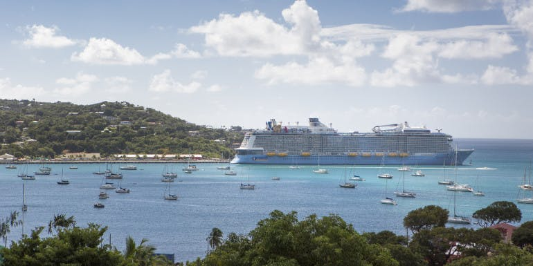 quantum royal caribbean st thomas cruise stress
