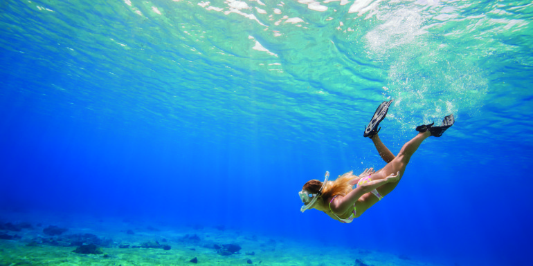 snorkel dive swimming excursion cozumel mexico