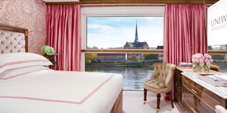uniworld balcony stateroom europe river cruise