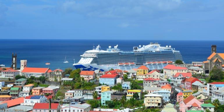 long cruises grenada royal princess caribbean