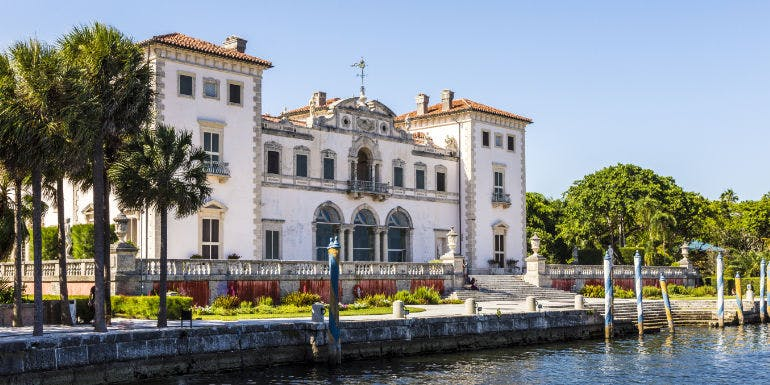 miami vizcaya museum florida architecture cruise