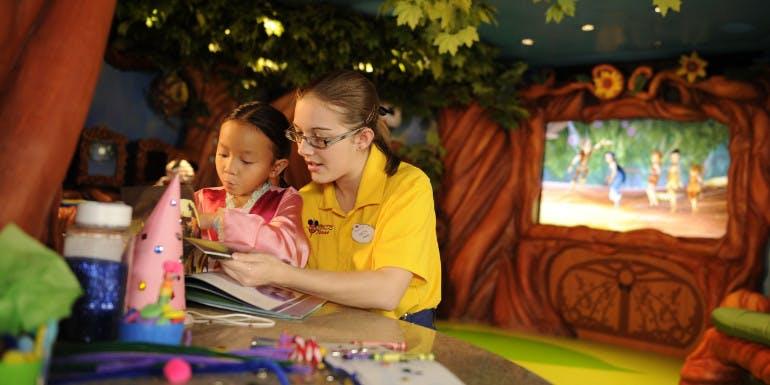 disney cruise children kids babysitting family