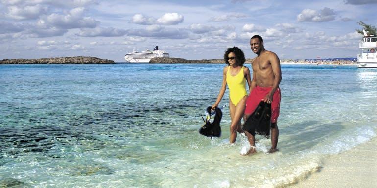 norwegian cruise line shore excursions beach