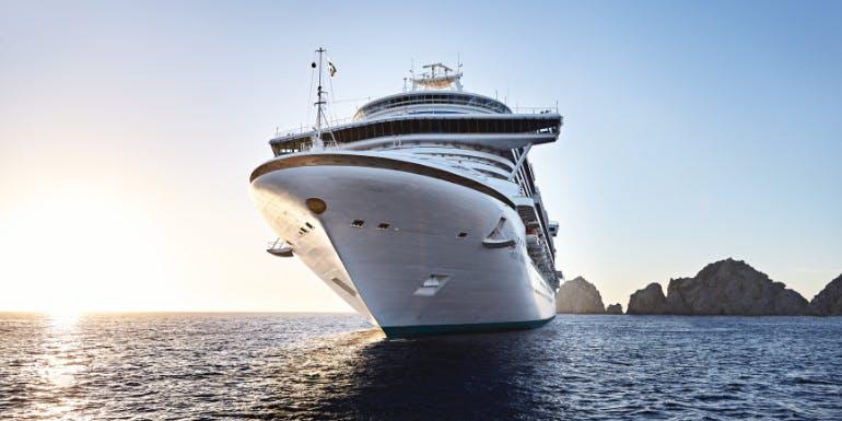 shore excursion princess cruise port ship