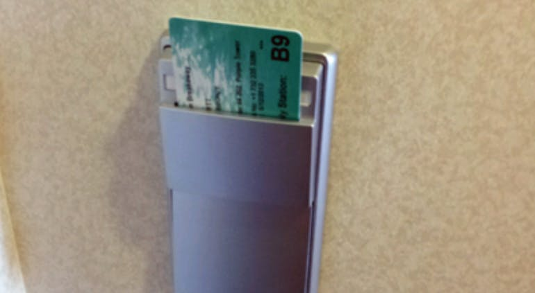 light switch keycard slot card cruise immediately