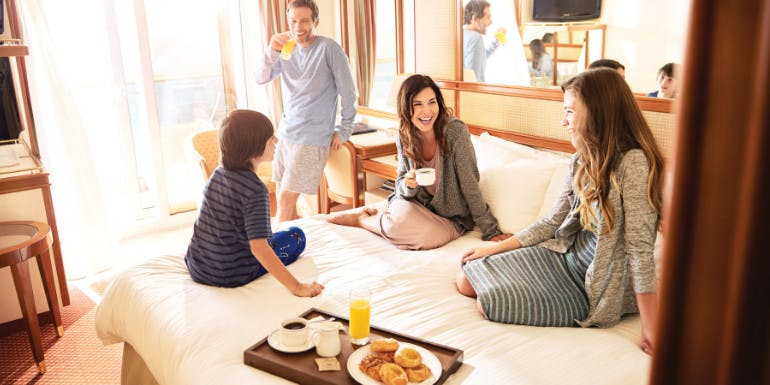 princess cruises room service breakfast cruise