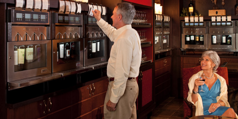 royal caribbean wine stations cruise drink
