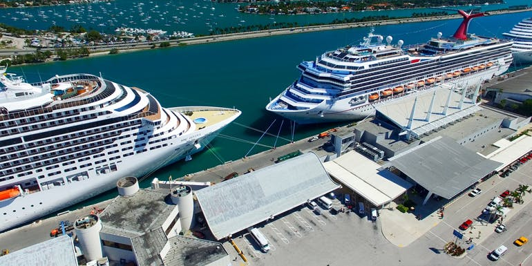 miami cruise to nowhere port