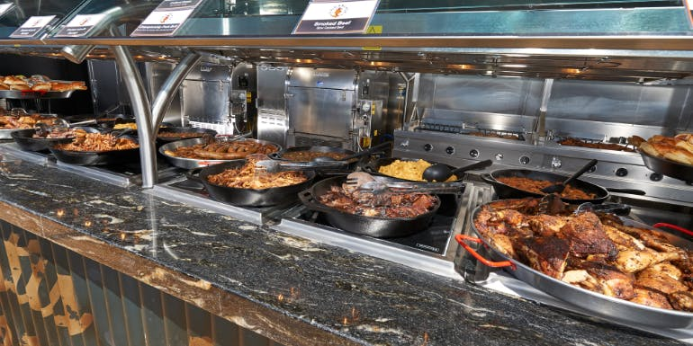 carnival cruise guy's pig anchor barbecue lunch