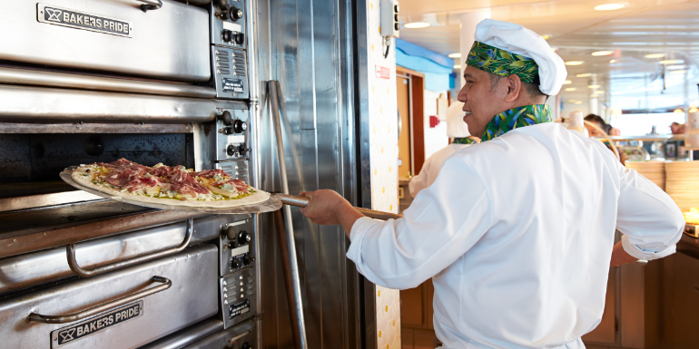 princess cruises slice prego pizza