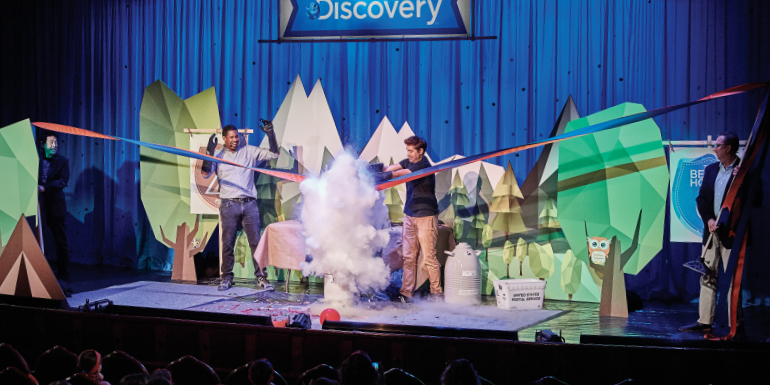 discovery at sea science experiment princess cruises