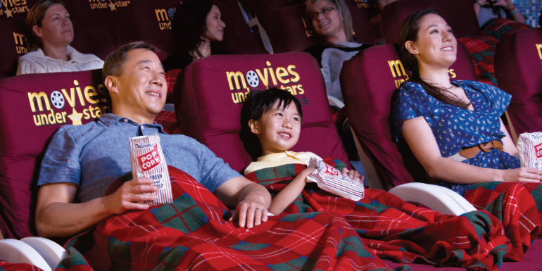 movies under the stars family kids princess cruises