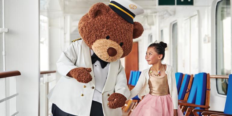 stanley the bear princess cruises