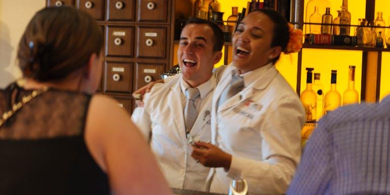 carnival cruise alchemy bar staff crew bartenders bartender
